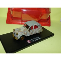 CITROEN 2CV N°098 TROUBADOUR AUTO PLUS 1:43