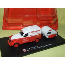 CITROEN 2CV N°070 LE GRAND CIRQUE AUTO PLUS 1:43