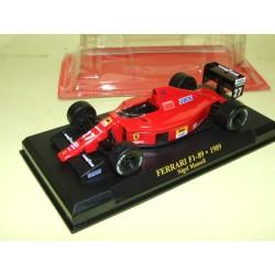 FERRARI F1 89 GP 1989 N. MANSELL FABBRI 1:43
