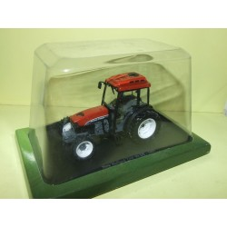 TRACTEUR N°110 NEW HOLLAND TNF 90 DT 1997 UNIVERSAL HOBBIES 1:43 sous coque