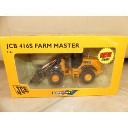 TRACTEUR JCB 416S FARM MASTER BRITAINS 42018 1:32