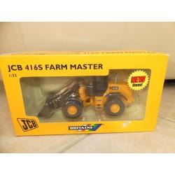 TRACTEUR JCB 416S FARM MASTER BRITAINS 42018 1:32 Boite abimée