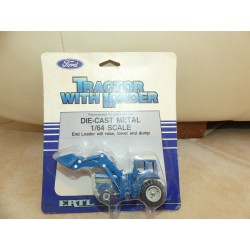TRACTEUR FORD TW-35 WITH LOADER ERTL 1:64