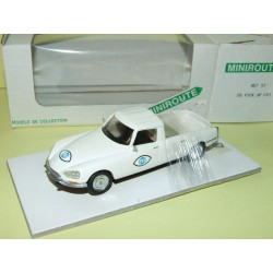 CITROEN DS PICK UP FR3  MINIROUTE 57 1:43 résine