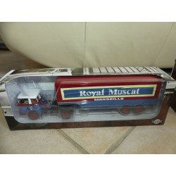 CAMION WILLEME LD610 TBH ROYAL MUSCAT SEMI REMORQUE ALTAYA 1:43
