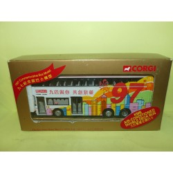CAR BUS KNOWLOON MOTOR BUS 1997 HONG KONG KMB CORGI 43203 1:76