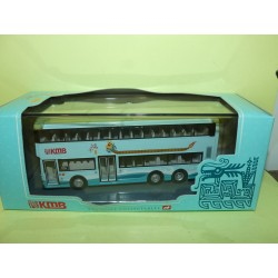 CAR BUS KOWLOON MOTOR BUS  HONG KONG DRAGON BOAT KMB CORGI 43222 1:76