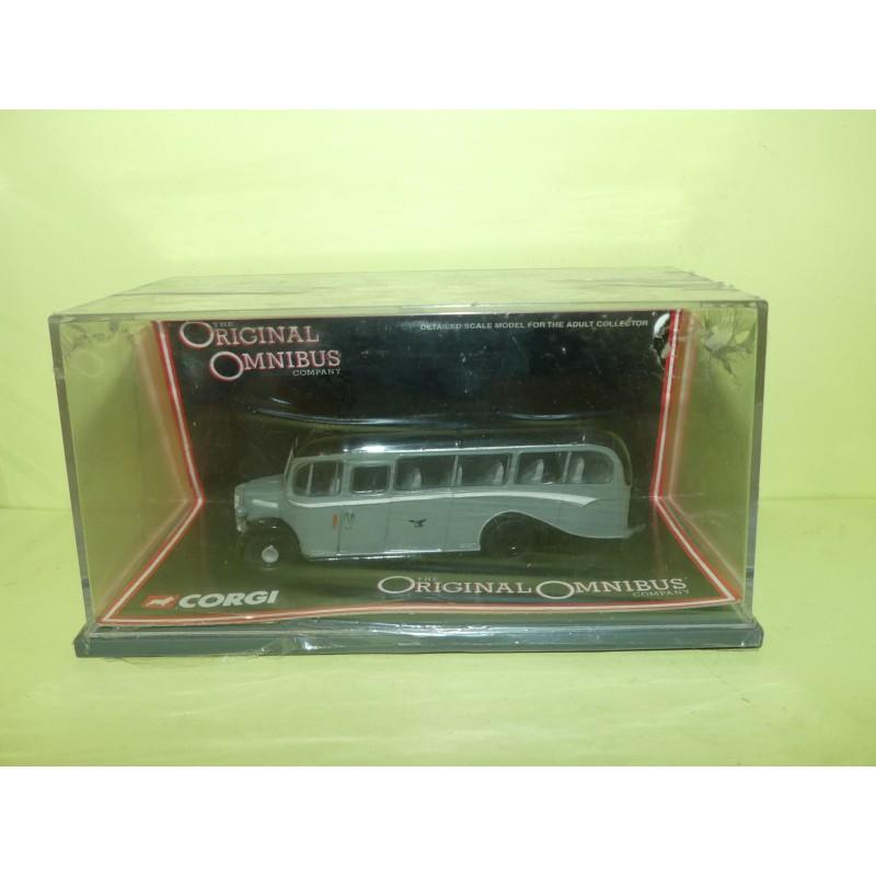 CAR BUS BEDFORD OB SEAGULL COACHES CORGI 42605 1:76
