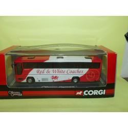 CAR BUS PLAXTON PREMIERE WALES et WHITE CORGI OM43314 1:76