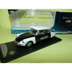 CITROEN DS 19 POLICE PIE 1956 SOLIDO 1:43