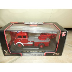 CAMION DAF A1600 1962 FIRE ENGINE POMPIERS SIGNATURE YATMING 4016A 1:43