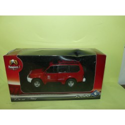 TOYOTA LAND CRUISER POMPIERS SOLIDO 1:43