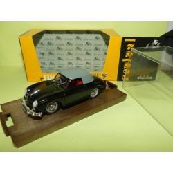 PORSCHE 356 CABRIOLET CAPOTE 1950 Noir BRUMM R118 1:43