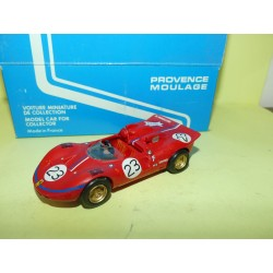 FERRARI 350 N°23 CAN AM 1967 PROVENCE MOULAGE 1:43 kit lire annonce