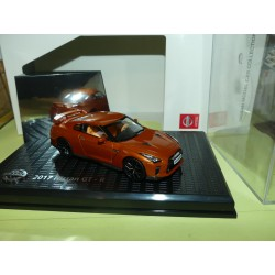 NISSAN GT-R Phase IV 2017 Orange KYOSHO 1:43