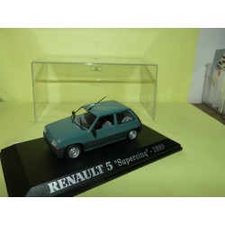 RENAULT 5 SUPERCINQ 3 Portes 1989 Vert UNIVERSAL HOBBIES Collection M6 1:43