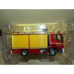 CAMION POMPIERS N°077 GIMAEX MAN TGL 8.22 TOULOUSE IXO PRESSE 1:43