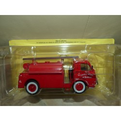 CAMION POMPIERS N°096 DELAHAYE 163 POMPES GUINARD CREUSE IXO PRESSE 1:43