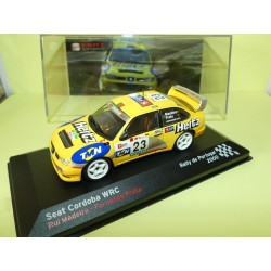 SEAT CORDOBA WRC RALLYE DU PORTUGAL 2000 MADEIRA ALTAYA 1:43 14ème