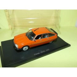 CITROEN GS X2 1978 Orange UNIVERSAL HOBBIES 1:43 sous blister