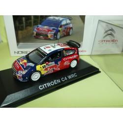 CITROEN C4 WRC RALLYE TOUR DE CORSE 2008 LOEB NOREV 1:43
