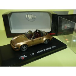 PORSCHE 911 SC TARGA 3.0 1977 Marron HIGH SPEED 1:43