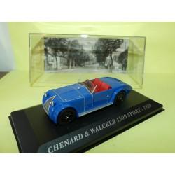 CHENARD et WALCKER 1500 SPORT 1929 Bleu ALTAYA 1:43