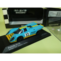 PORSCHE 917 K N°12 INTERSERIE CHAMPION 1970 MINICHAMPS 1:43