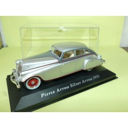 PIERCE ARROW SILVER ARROW 1933 Gris  ALTAYA 1:43