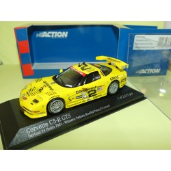 CHEVROLET CORVETTE C5-RN°2 24 H DE DAYTONA 2001 MINICHAMPS ACTION 1:43 1er