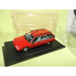 CITROEN BX BREAK 16 RS EVASION 1989 Rouge UNIVERSAL HOBBIES 1:43 sous blister