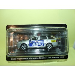 SKODA OCTAVIA COMBI INFORMATION SECURITE Tour De France 2005 NOREV pour ATLAS 1:43