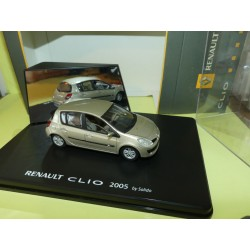 RENAULT CLIO III Phase 1 Beige 2005 Gris SOLIDO 1:43