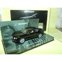 BENTLEY CONTINENTAL GT 2011 Noir MINICHAMPS 1:43