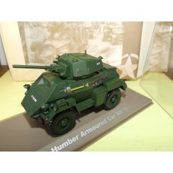 HUMBER ARMOURED CAR MK IV MILITAIRE ATLAS N°014 1:43