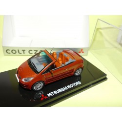 MITSUBISHI COLT CZC Oriental Orange SUNSTAR 1:43