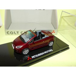 MITSUBISHI COLT CZC Carman Red SUNSTAR 1:43