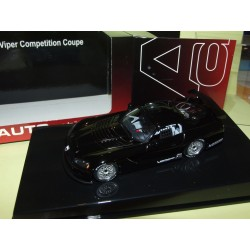 DODGE VIPER COMPETITION COUPE Noir  AUTOART 1:43