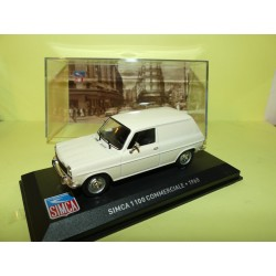 SIMCA 1100 COMMERCIALE 1968 Blanc ALTAYA 1:43