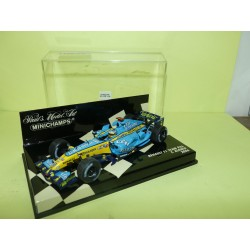 RENAULT F1 TEAM R26 GP 2006 F. ALONSO MINICHAMPS 1:43