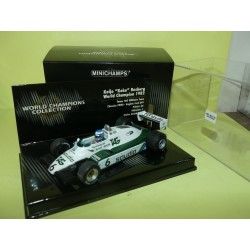 WILLIAMS FW08 GP 1982 K. ROSBERG MINICHAMPS 1:43 1er