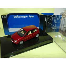 VW POLO IV Bordeaux  Murano Rot AUTOART 1:43