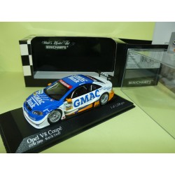 OPEL V8 COUPE DTM 2004 OPC EUROTEAM TAXI MINICHAMPS 1:43