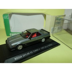 NISSAN SKYLINE RS TURBO-C 1983 Gris EBBRO 255 1:43