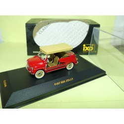 FIAT 600 JOLLY Rouge IXO CLC049 1:43