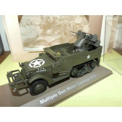 MULTIPLA GUN MOTOR CARRIAGE M16 MILITAIRE ATLAS N°003 1:43