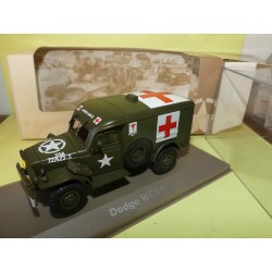 DODGE WC54 MILITAIRE ATLAS N°031 1:43
