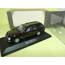 FORD SCORPIO BREAK 1996 Dunkelbraun MINICHAMPS 1:43