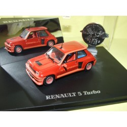 RENAULT 5 TURBO Rouge UNIVERSAL HOBBIES 1:43