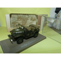 DODGE COMMAND CAR MILITAIRE ATLAS N°028 1:43